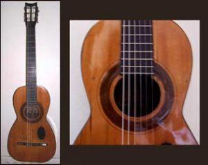 De Lorca guitar