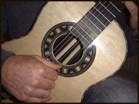 David Merrin ebony guitar