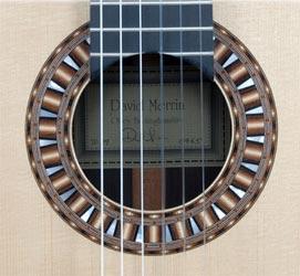Rosette on David Merrin Guitar