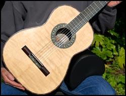 David Merrin small guitar